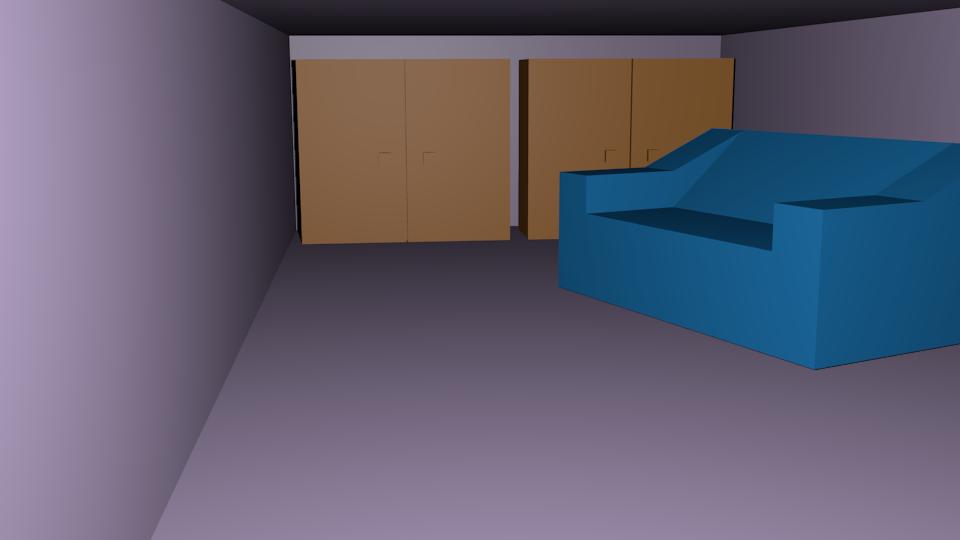 Walls-Furniture-Sofa order drawing