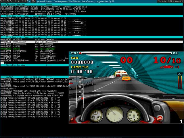 Relevant code to hack